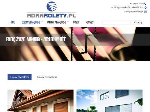 Rolety do okien Łódź
