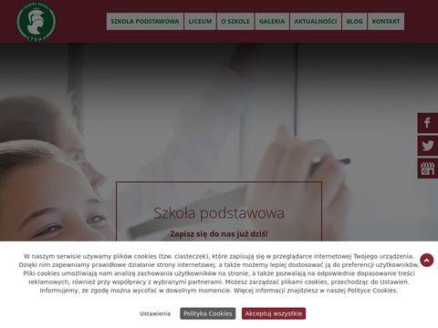 ATENA szkoła podstawowa prywatna sosnowiec