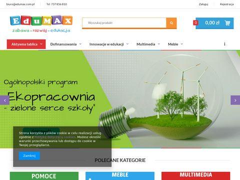 edumax.com.pl - wyposażenie przedszkoli