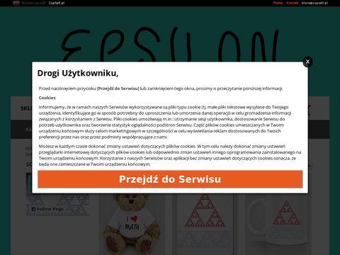 Epsilon - Koszulki, torby i gadżety matematyczne