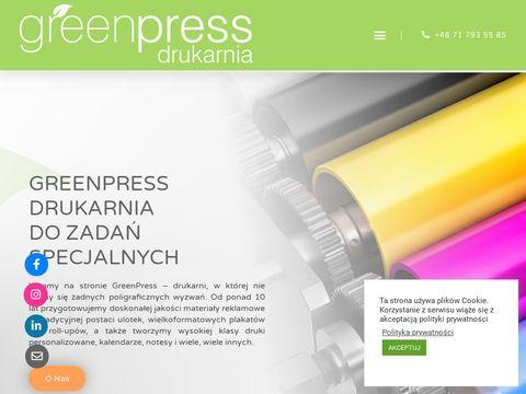 Druk Wrocław - Greenpress.pl