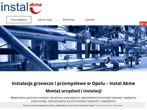 www.instalakme.opole.pl instalacje przemysłowe