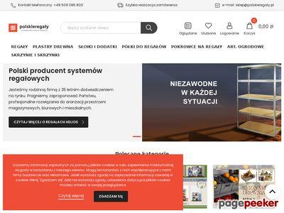 Regały magazynowe Poznań