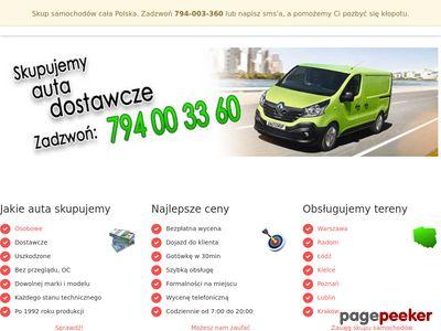 Skup samochodów Lublin, Radom, Kraków