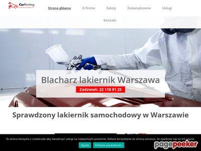 Blacharz lakiernik Warszawa