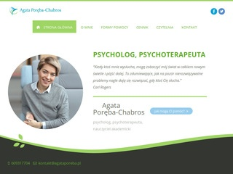 Konsultacje psychologiczne - Agata Poręba