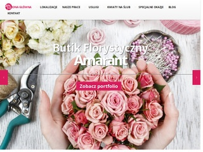 Amarant - kwiaciarnia 24h Warszawa