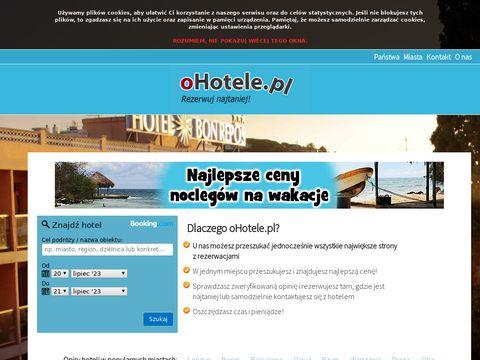 Porównywarka cen hoteli