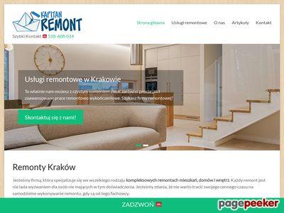 KapitanRemont.pl - remonty domów Kraków