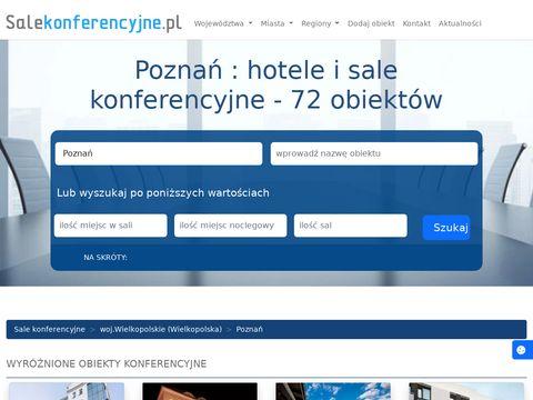 Sala konferencyjna Poznań
