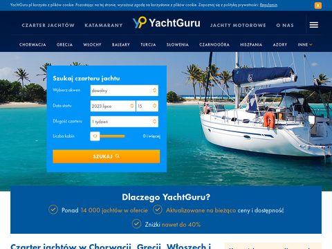 Czarter jachtów Chorwacja, Grecja