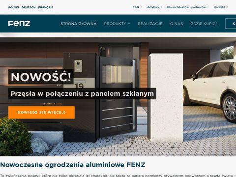 FENZ - producent aluminiowych ogrodzeń