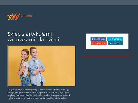 Brrrum.pl - zabawki disney, buciki na basen
