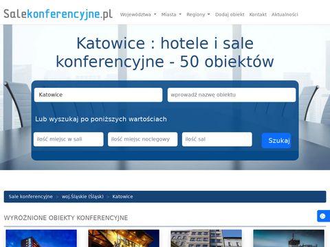 Sala konferencyjna Katowice
