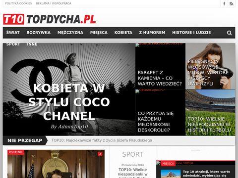 TOPDycha   T10 - Portal dla ciekawskich