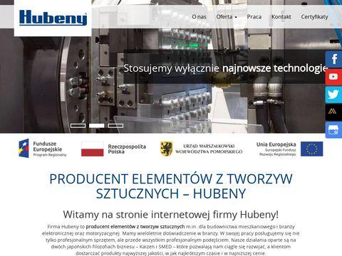 www.hubeny.com.pl Wypraski z tworzyw sztucznych