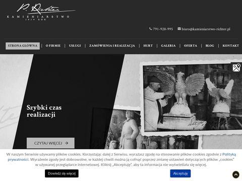 P. RICHTER murowanie grobowców Siemianowice Śląskie