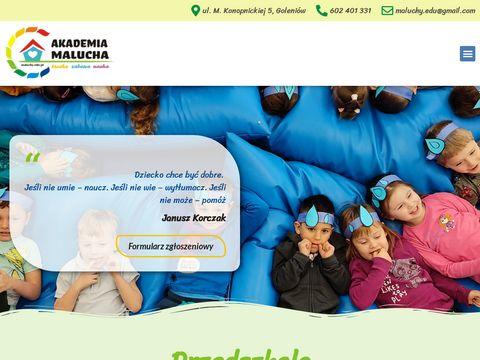 www.maluchy.edu.pl przedszkole prywatne