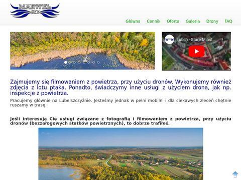 Filmowanie dronem Lublin