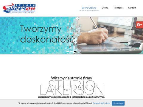 www.lakerson.pl Projekty graficzne