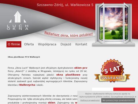 Okna od firmy Okna Luch z Wałbrzycha