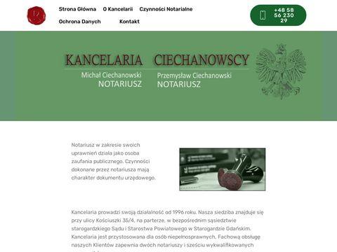 Notariusz - Starogard Gdański