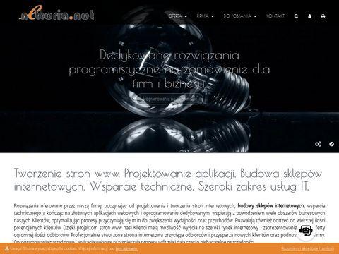Oprogramowanie na zamówienie, tworzenie stron www.