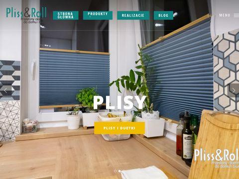 Pliss&Roll Warszawa – Rolety, Żaluzje, Plisy i moskitiery w Warszawie.