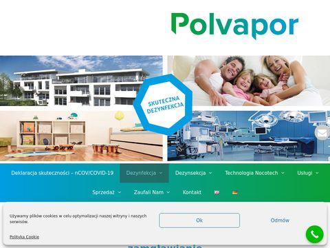 Polvapor - dezynfekcja i dezynsekcja przez zamgławianie ULV
