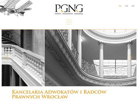 Obsługa prawna - pgng.pl