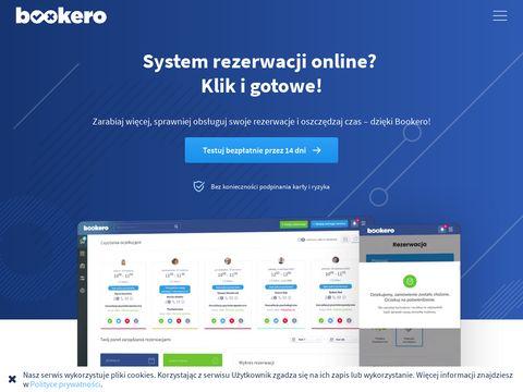System rezerwacji online Bookero