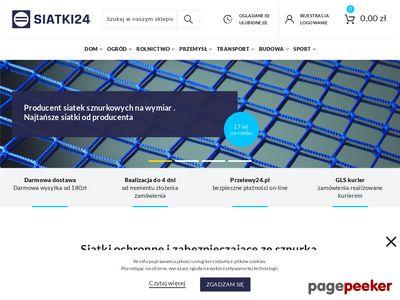 Siatki24.eu - siatka sznurkowa