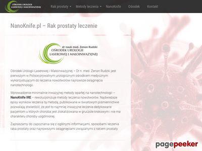NanoKnife.pl strona główna