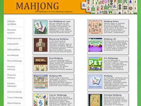 Gry Mahjong - wspaniały relaks