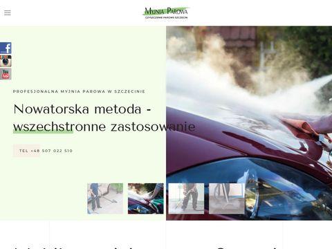 Mobilna myjnia parowa Szczecin