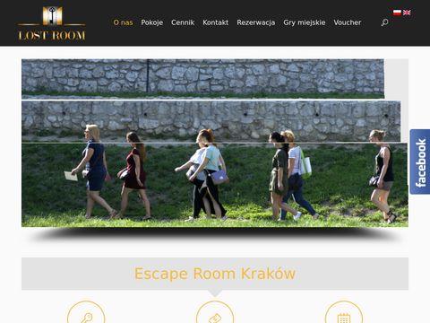 www.LostRoom.pl - Gra Miejska - Kraków