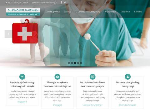 Chirurgia stomatologiczna Kraków NFZ