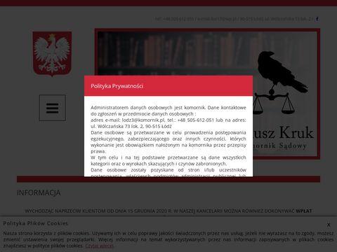 Kancelaria Komornika Sądowego Janusza Kruka