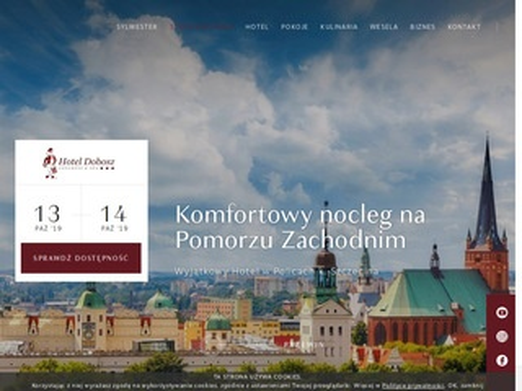 Hotel w Szczecinie - Dobosz