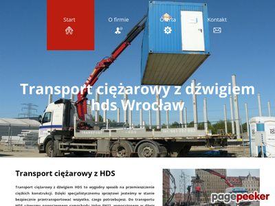 Transport z HDS Wrocław