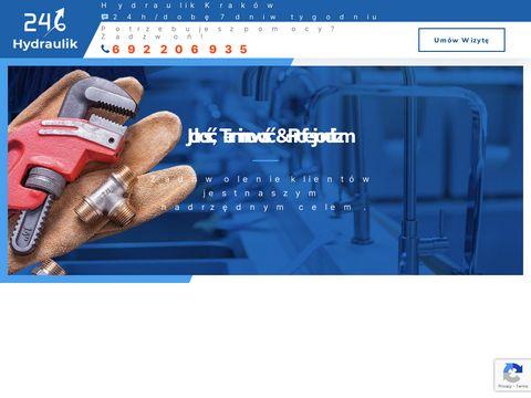 Hydraulik 24 Kraków | Plumbing Enterprise