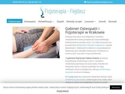 Terapia Manualna, Rehabilitant, Kręgosłup Kraków