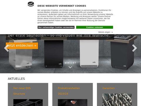 eos-sauna : Sauna z komfortem bezpieczeństwa