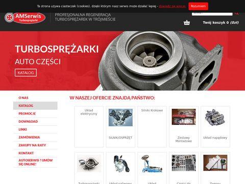 Naprawa turbosprężarek - Amserwis