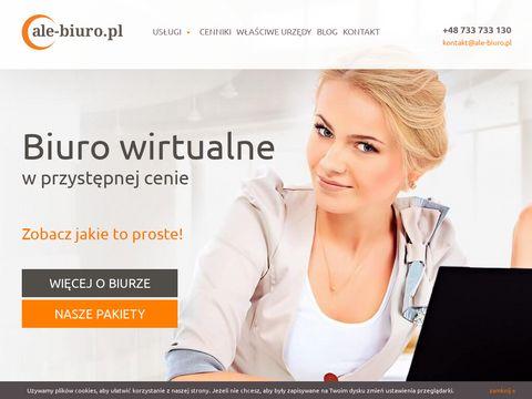 Wirtualne biuro w centrum Warszawy - ale-biuro.pl