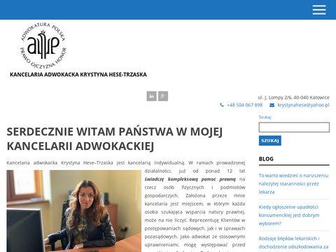 Kancelaria Adwokacka Krystyna Hese-Trzaska