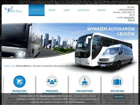 ATH FIDES - AUTOKARY WARSZAWA