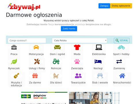 Zbywaj.pl - darmowe ogłoszenia