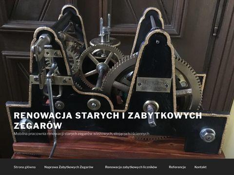 Naprawa starych zegarów Śląsk