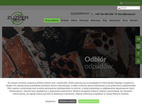 ZUZPER RECYKLING Gruz